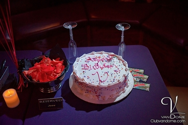 Vandome Birthday Reservation / Book your next Birthday Party at Vandome.....It's FREE