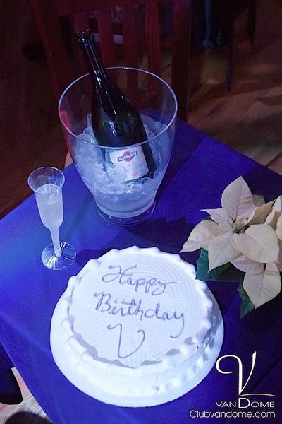 Vandome Birthday Cake
