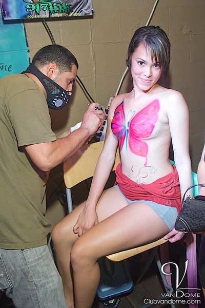 Body Painting Event