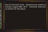 Closed / Hurricane Irene