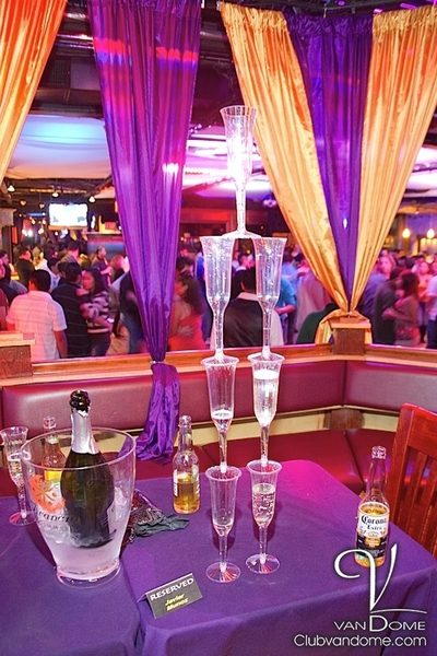 VIP area / Main Room