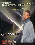 Special Guest:  D.J. Flip Star / Warehouse
