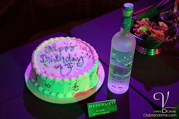 Birthday Reservation