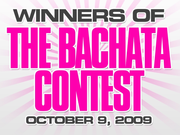 Winners of The Bachata Contest