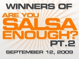 Winners of Are You Salsa Enough Pt.2